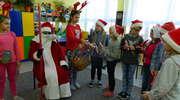 Mikołaj w szkole w Galinach