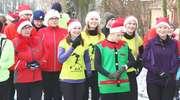 Mikołaje pobiegli na zakończenie Braniewskiej Małej Korony