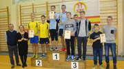 Gimnazjaliści z Hartowca na podium mistrzostw województwa w badmintonie