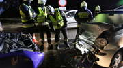 Wypadek na DK 51 pod Olsztynem. Trzy osoby ranne
