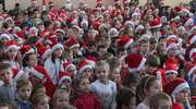 Tort-gigant, inscenizacja baśni i wizyta Mikołaja - tak wyglądały mikołajki w lubawskiej podstawówce