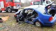 """Wypadek na """"berlince"""". Trzy osoby zostały ranne"""