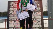 Pięć medali łyżwiarzy Orła Elbląg na mistrzostwach Polski. Adrian Wielgat podwójnie złoty