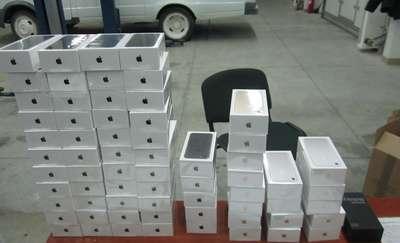 Najnowsze smartfony i tablety. Przemyt elektroniki w Mamonowie