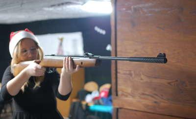 Licealiści na zawodach strzeleckich o Puchar Starosty Węgorzewa