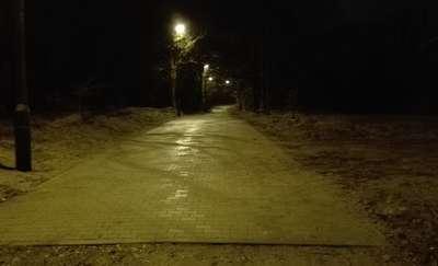 Na Warszawskiej i Trackiej zamontowano nowe oświetlenie