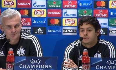 Guilherme przed meczem ze Sportingiem: Nie boimy się, darzymy ich szacunkiem