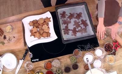 Świąteczne pierniczki. Przepis Anny Starmach