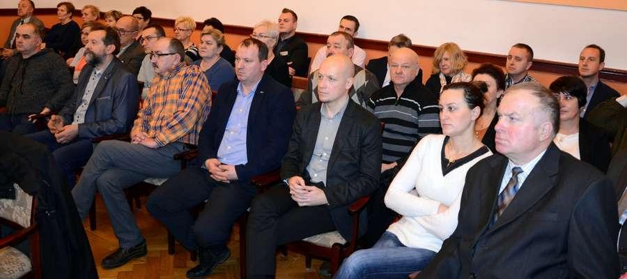 W spotkaniu wzięli udział między innymi wiceburmistrz Żuromina Michał Bodenszac oraz radny Rady Miejskiej Waldemar Bukowski