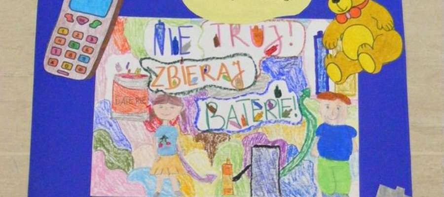 Rysunek wykonany przez uczniów klas IV - V