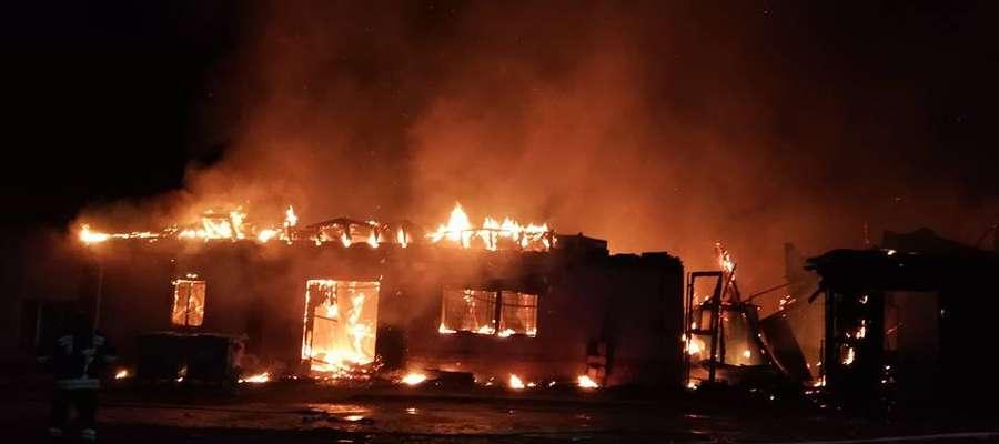 Budynek ZUK-u spłonął doszczętnie