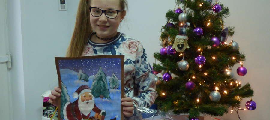 Pierwsze miejsce przyznaliśmy Natalii Antonienko (12 lat) z Mławy