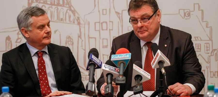O wyłożeniu pieniędzy na wkład własny projektu muzeum prezydent poinformował podczas konferencji prasowej