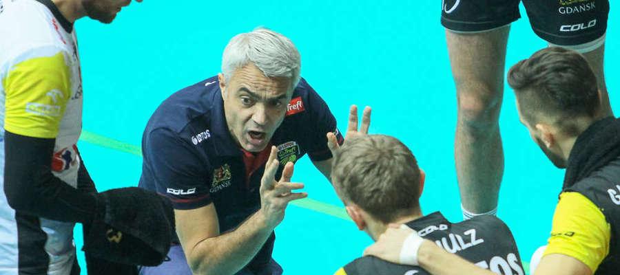 Trener gdańszczan Andrea Anastasi już po raz drugi doprowadził Trefl do wygrania Pucharu Polski