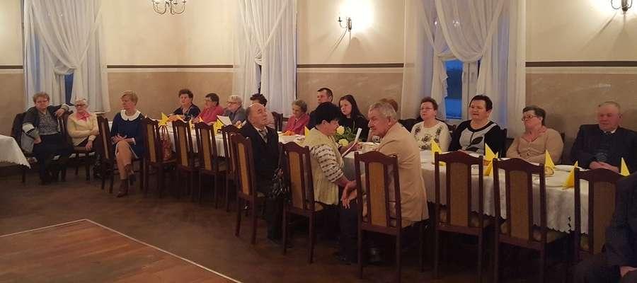 Seniorzy podczas spotkania w Boleszynie