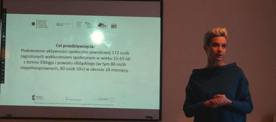 Małgorzata Woźna, dyrektor Centrum Integracji Społecznej w Elblągu