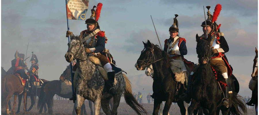 Rekonstruktorzy z Ornety i Lidzbarka Warmińskiego wzięli udział w 211 rocznicy bitwy pod Austerlitz