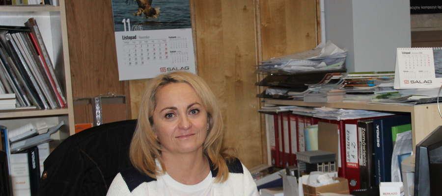 Ewa Kopała, właścicielka firmy Kopalus