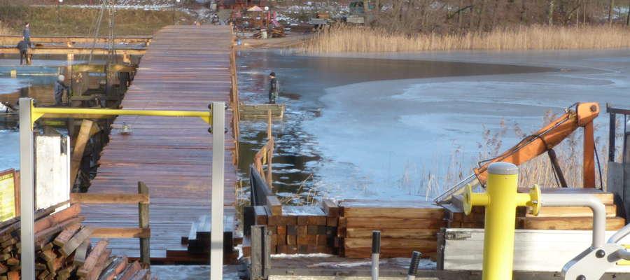 Prace na moście garbatym mają potrwać do 20 grudnia