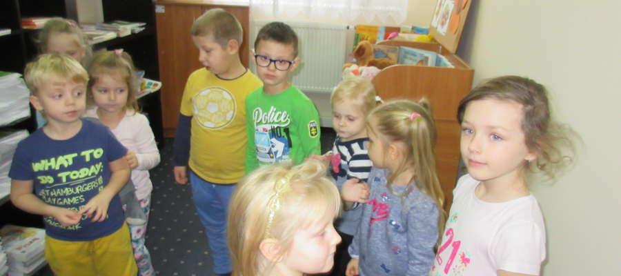 Dzieci gościły w bibliotece