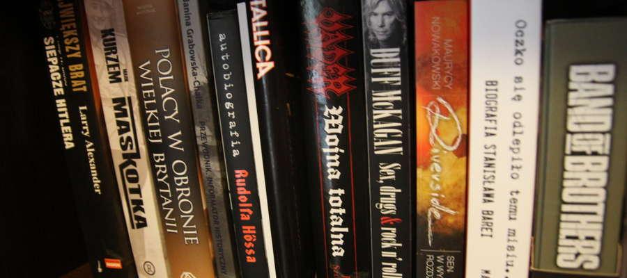 Biografie muzyczne i książki o drugiej wojnie światowej to moje ulubione tematy