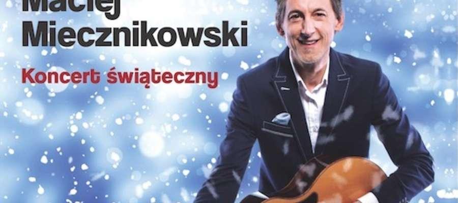 Maciej Miecznikowski zaśpiewa charytatywnie w Nowym Mieście Lubawskim