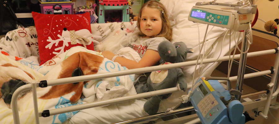 Dziewięcioletnia Magda już po raz drugi musi walczyć z nowotworem. I po raz drugi nie zamierza się poddać chorobie.