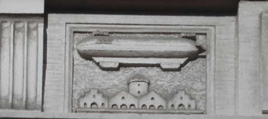 Sterowiec Z.IV. z olsztyńskiego ratusza