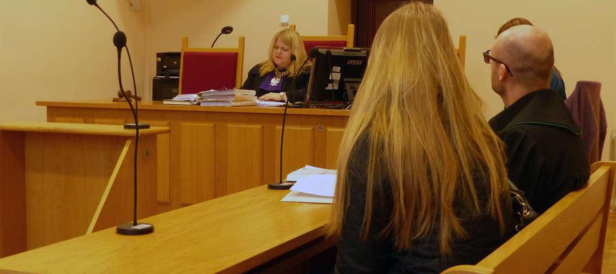 Katarzyna W. przed braniewskim sądem