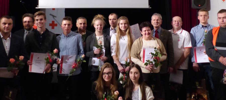 Dyplomy otrzymali wolontariusze