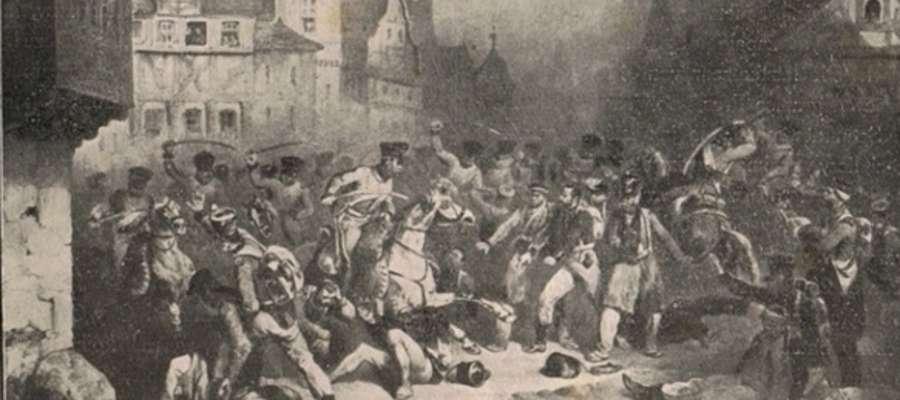 Rzeź powstańców na ryku w Elblągu - 22 grudnia 1832 r.