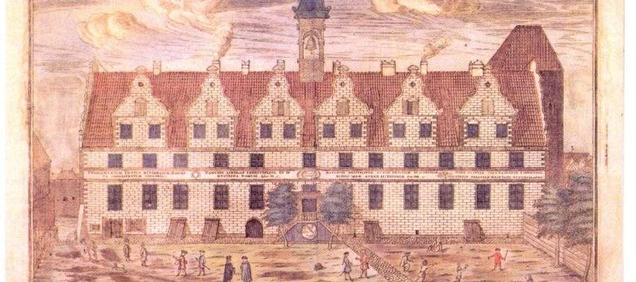 Budynek Gimnazjum Elbląskiego z 1599r