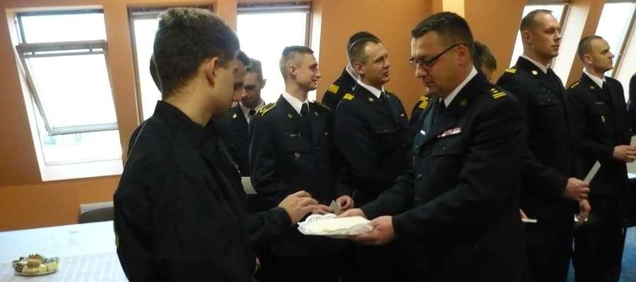 Tylu samo powrotów z akcji ilu wyjazdów... życzyli sobie strażacy podczas spotkania opłatkowego