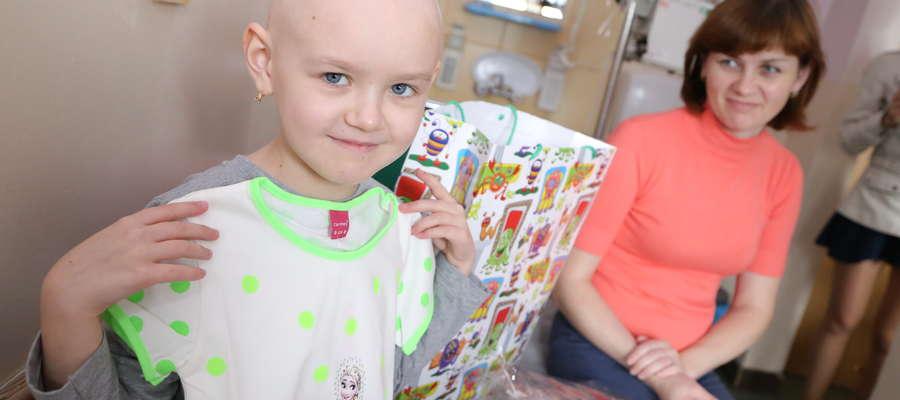 Wśród dzieci, które juz otrzymały pomoc fundacji, jest 8-letnia Marina Meretina z Ukrainy.