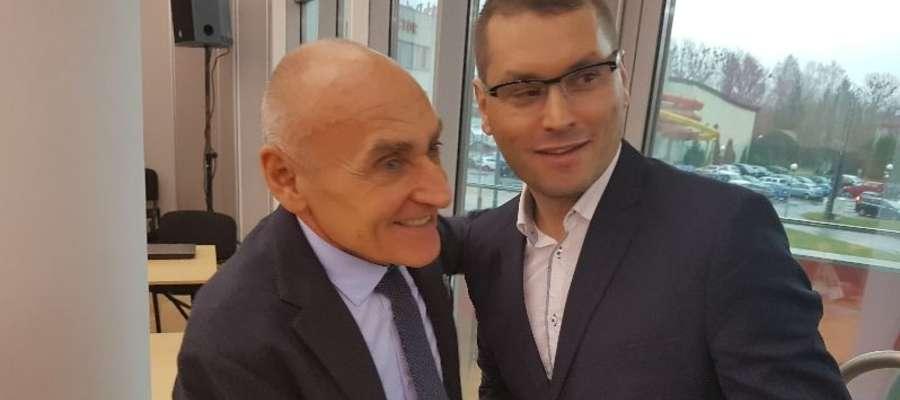 Czesław Lang i Adam Wadecki