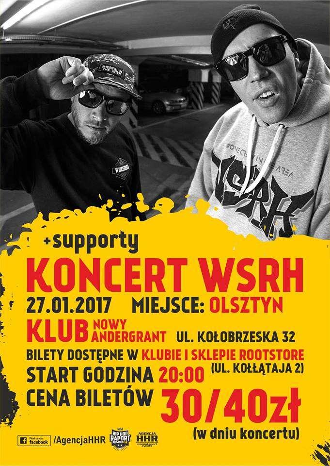 Koncert WSRH (Dj Soina) w Olsztynie - full image