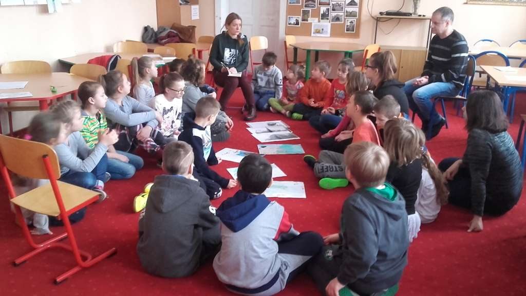 W Szkole Podstawowej w Nawiadach zorganizowane zostało półzimowisko pełne mazurskich tradycji. - full image