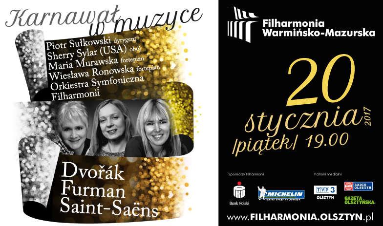 """""""Karnawał w muzyce"""" w Filharmonii Warmińsko-Mazurskiej - full image"""