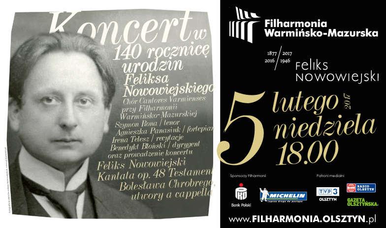 Koncert w 140 rocznicę urodzin Feliksa Nowowiejskiego - full image