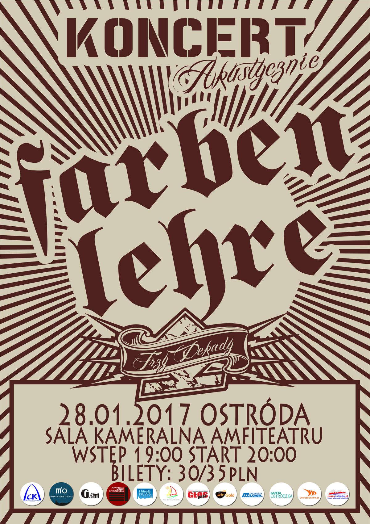 Farben Lehre akustycznie w Ostródzie - full image