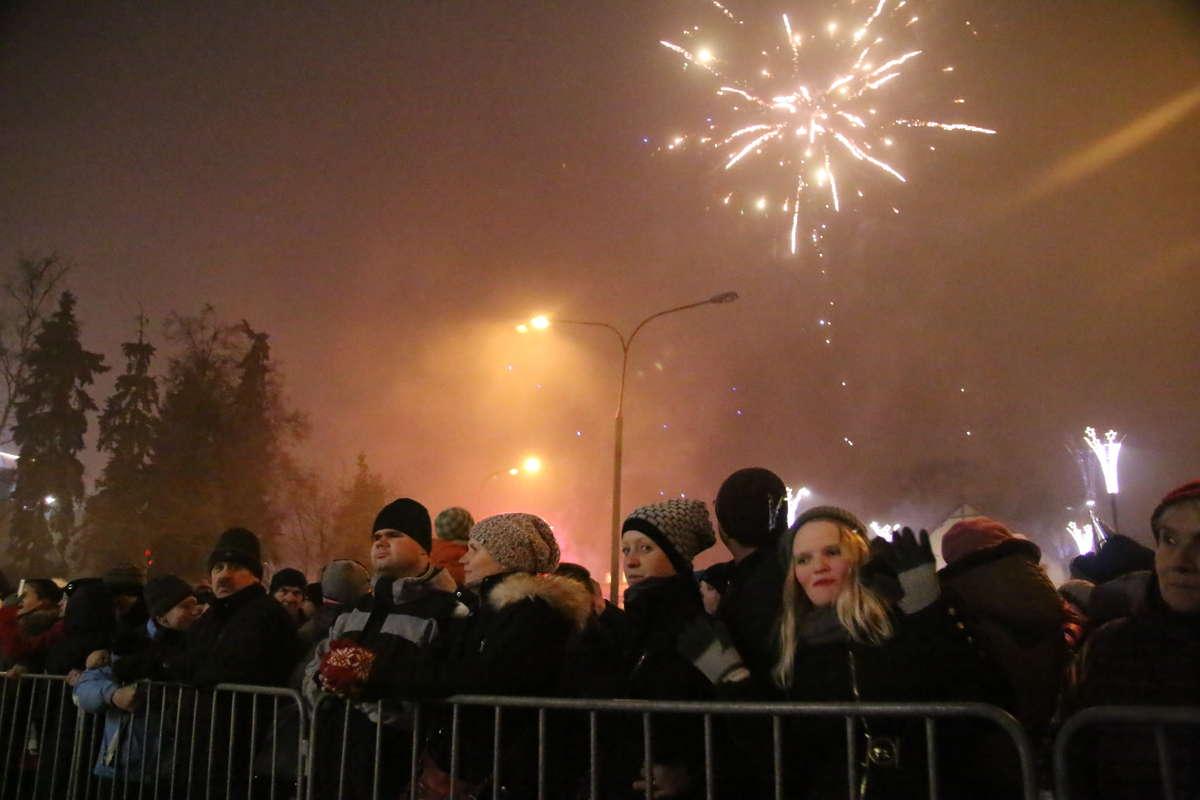 Sylwester w Olsztynie. Zobacz zdjęcia - full image