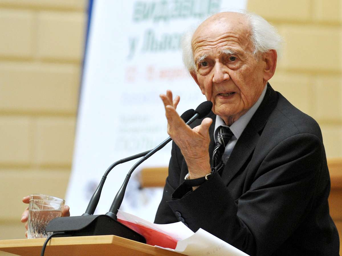 Zmarł Zygmunt Bauman  - full image