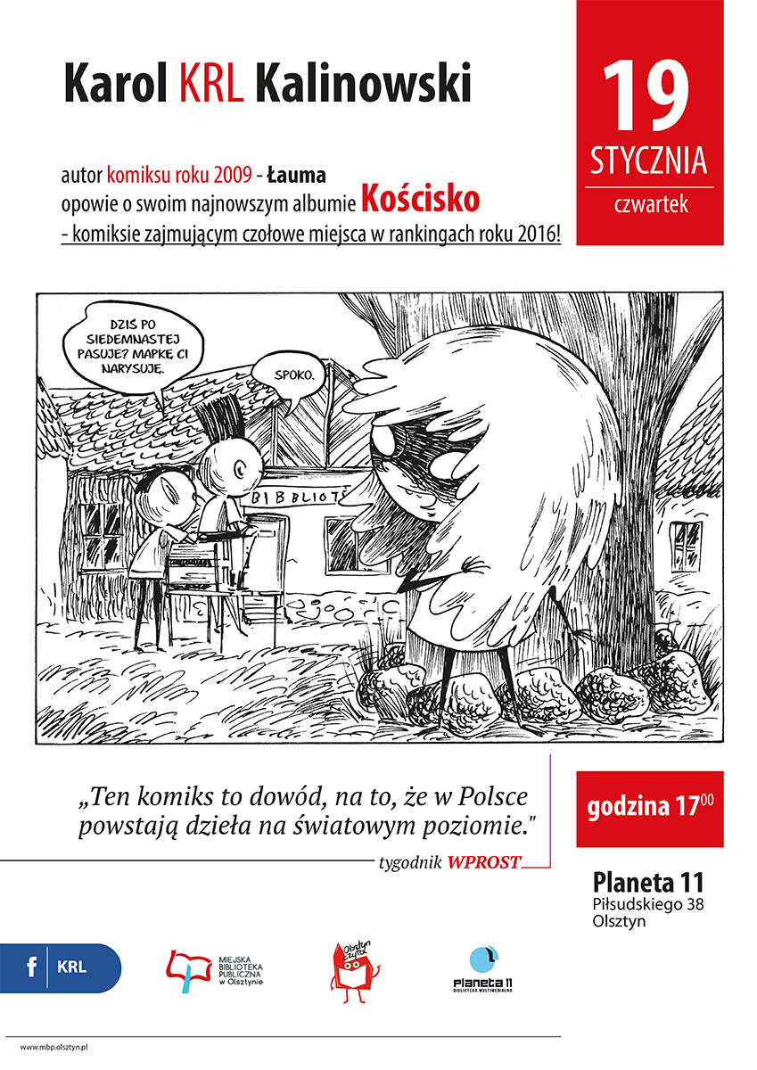 Karol KRL Kalinowski w Planecie 11