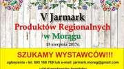 V Jarmark Produktów Regionalnych w Morągu - Zapraszamy Wystawców!!!!