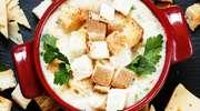 Przepis na obiad - rozgrzewająca zupa serowa