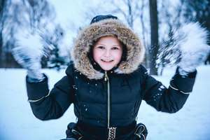 7-letnia Julia Zimowym Brzdącem w powiecie