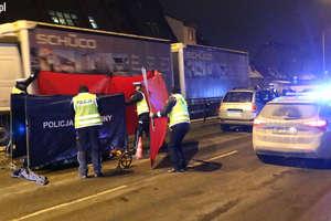 Śmiertelne potrącenie w centrum Olsztyna. Utrudnienia trwały kilka godzin