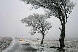 Jak kierowca powinien jeździć zimą