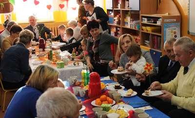 Dzień Babci i Dziadka w Przedszkolu Publicznym nr 2 w Bartoszycach