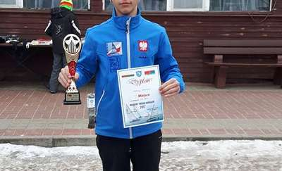 Czarek Sternicki przed wicemistrzem świata z Estonii z 2016 r